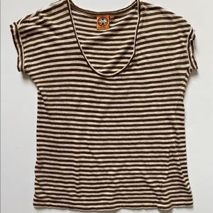 Tory Burch Striped Tee Shirt